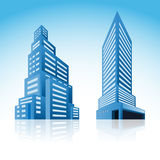 Icon city Royalty Free Stock Photography