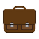 Icon classic school bag Royalty Free Stock Photo