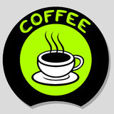 Icon coffee Stock Image
