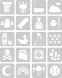 Icon collection Royalty Free Stock Image