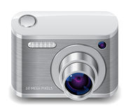 Icon for compact photo camera Royalty Free Stock Photo