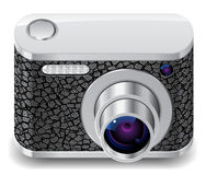 Icon for compact photo camera Royalty Free Stock Images