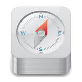 Icon for compass Stock Images