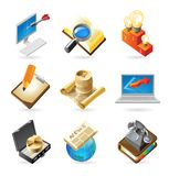 Icon concepts for business Stock Image