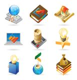 Icon concepts for business Stock Photo