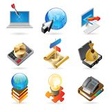 Icon Concepts For Success Stock Image