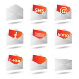 Icon convert set 3d Stock Images