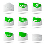 Icon convert set 3d Royalty Free Stock Photos