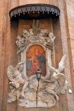Icon at the corner Congregazione Dell'Oratorio di San Filippo Ne Stock Photos