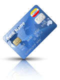 Icon of a credit card royalty free stock photos