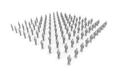 Icon Crowd Royalty Free Stock Photos