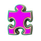 Icon cut from colored paper Royalty Free Stock Photos