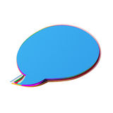 Icon Cut From Colored Paper Royalty Free Stock Photography