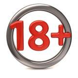 18+ icon Stock Photos