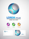 Icon design element - 3d sphere Stock Photo