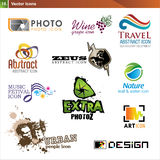 Icon design elements Stock Photos