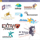 Icon design elements Royalty Free Stock Photo