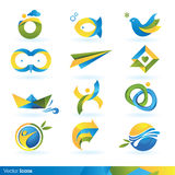Icon design elements. Set of vector icon design elements Royalty Free Stock Images