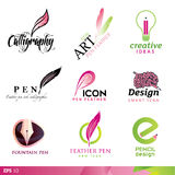 Icon design elements Royalty Free Stock Image