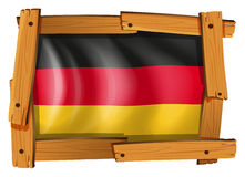 Icon design for Germany flag Royalty Free Stock Photos