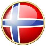 Icon design for Norway flag. Illustration Stock Photo