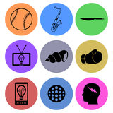 Icon designs Stock Photo