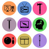 Icon designs Royalty Free Stock Images