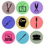 Icon designs royalty free illustration