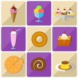 Icon dessert Royalty Free Stock Photography