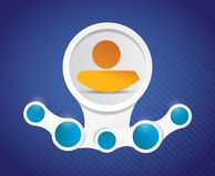 Icon diagram illustration design graphic Stock Photos