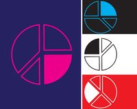 Icon diagram tabel pie chart icon. sign design vector illustration