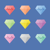 Icon Diamond Royalty Free Stock Photos
