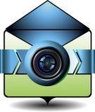 Icon digital cam Royalty Free Stock Photos