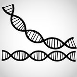 Icon DNA thema background Royalty Free Stock Photography