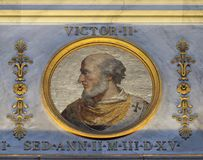 Pope Victor II Royalty Free Stock Image