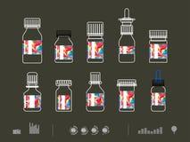 Icon drug Stock Photo
