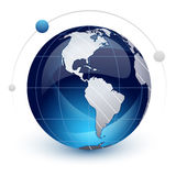 Icon of Earth Stock Photo