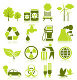 Icon ecology Stock Photo