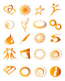 Icon elements 05 Stock Images