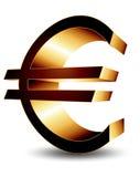 Icon euro Stock Photo