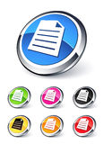 Icon file. Clipart illustration design Royalty Free Stock Images