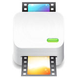 Icon for film scanner Stock Image