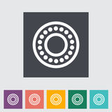 Icon flat bearing. Vector illustration EPS Royalty Free Stock Photo