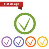 Icon flat  element design. For use in your business projects Royalty Free Stock Image