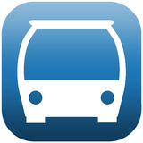 Icon front side bus Stock Photo