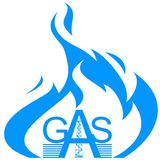 Icon gas industry Royalty Free Stock Photos
