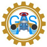 Icon gas industry Royalty Free Stock Image