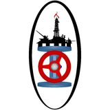 Icon gas industry-1 Stock Image