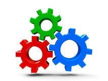 Icon gears Royalty Free Stock Photo