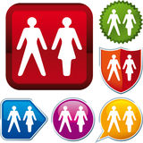 Icon gender Stock Images